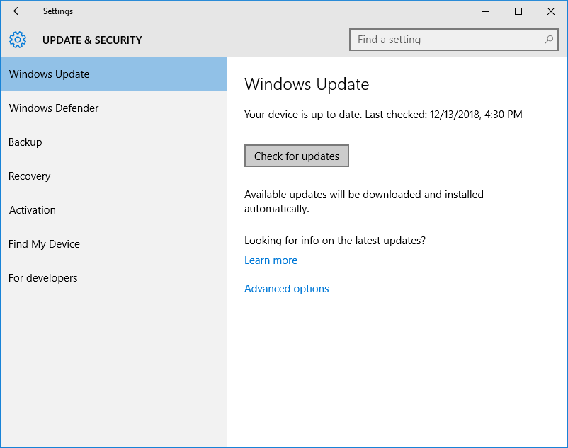 Error: irql_not_less_or_equal on Windows 10? Not a problem