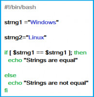 strings are equal - comparison with equality sign