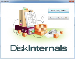DiskInternals MySQL Recovery - Import wizard is here
