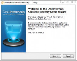 Outlook Recovery setup