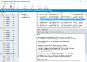 Outlook Recovery - preview outlook files