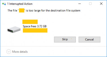 This file is too large for the destination file system