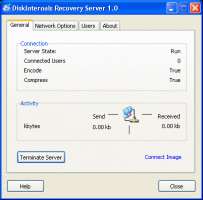 Recovery Server helps you recover damaged data without touching the remote computer